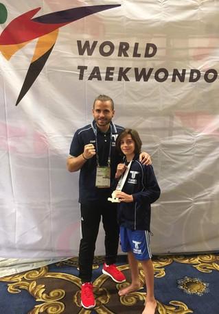 Double medal winner in Las Vegas
