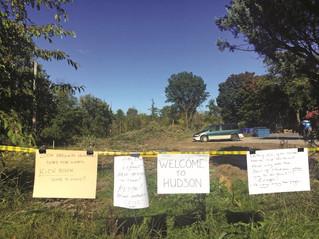 Signs of frustration in Hudson