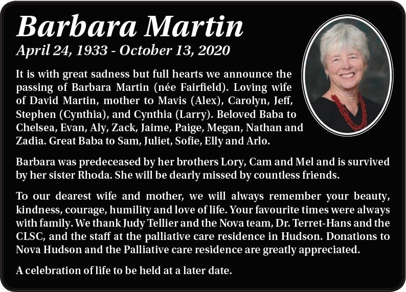 Barbara Martin