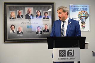 Vaudreuil-Dorion 2017 financial report unveils surplus of just over $10 million