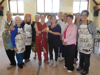 Soup's On for Hudson Grannies Aid for Africa fundraiser