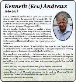 Kenneth (Ken) Andrews