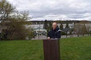 Landslide risk for riverside homes in Pointe-Fortune