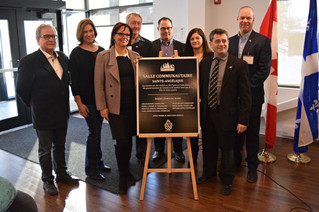 St. Lazare unveils its new town hall community drop-in centre