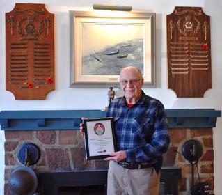 Hudson Legion receives surprise award for tolling bells of peace