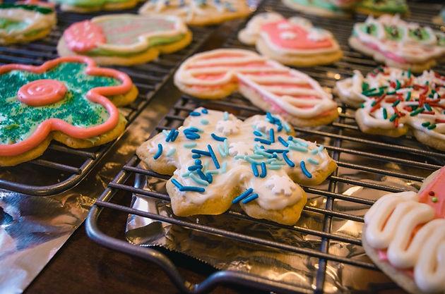 Snowflake Christmas Tea And Bake Sale