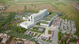 A glimpse of the Vaudreuil-Soulanges Hospital project