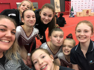 Six area artistic gymnasts will compete at Jeux du Québec