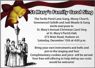 St. Mary's Family Carol Sing