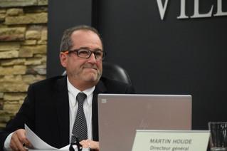 Martin Houde announces his retirement as Vaudreuil-Dorion Director General