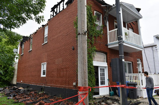 Rigaud residence a write-off following fire