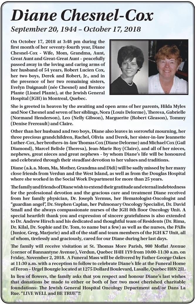 Diane Chesnel-Cox
