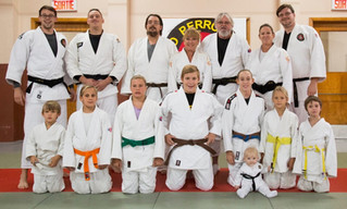 Three generations of Judokas