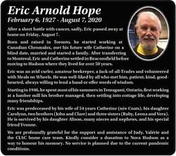 Eric Arnold Hope