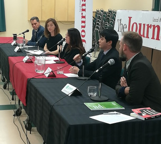 Local candidates debate