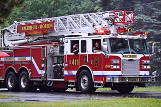 Deluge doesn't dampen Pincourt's annual Firemen's Day festivities
