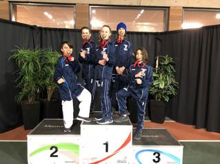 Twins Taekwondo elite team take home gold