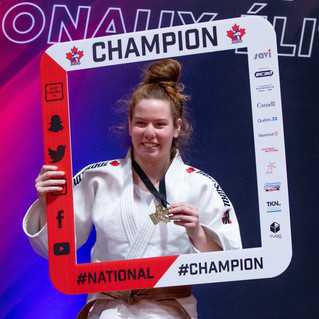 New Canadian judo champion in Île-Perrot