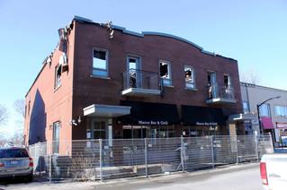 Fire in Ste. Anne de Bellevue restaurant