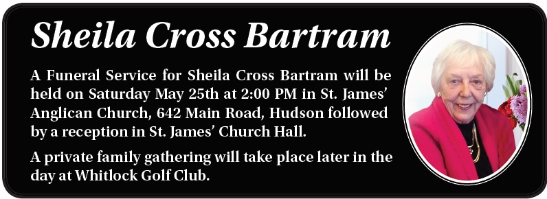 Sheila Cross Bartram