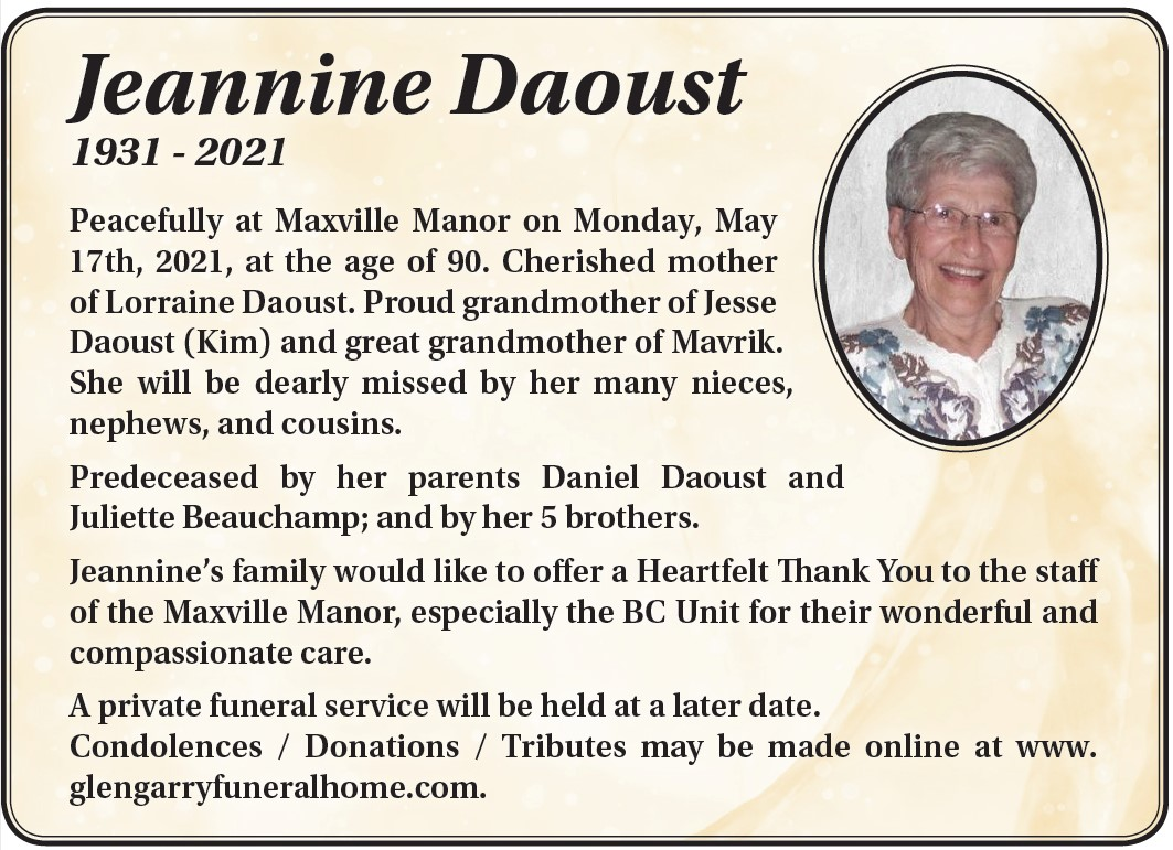 Jeannine Daoust