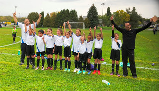 Gold medal win for the Saint-Lazare team