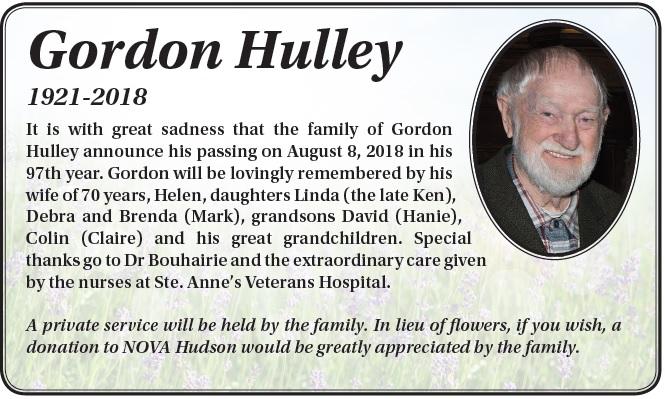 Gordon Hulley