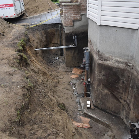 Financial aid for Saint-Lazare homes with cracked foundations