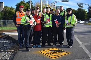 Pedestrian and motorist safety highlighted at Pincourt–Terrasse-Vaudreuil train station