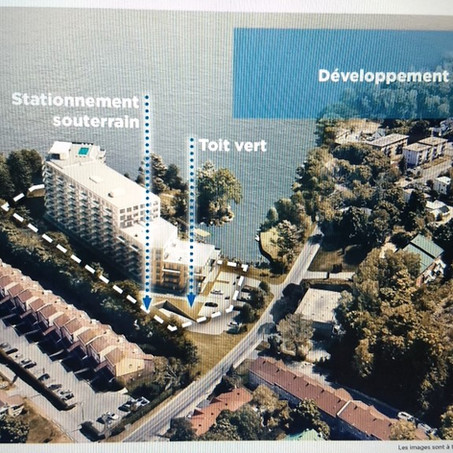 Île-Perrot residents express opposition to nine-storey condo project
