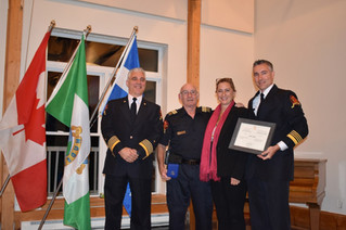 Hudson Fire Department Captain receives Governor General's Award