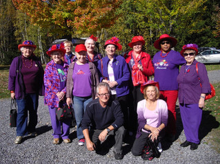 Red Hat Society soldiers on through pandemic