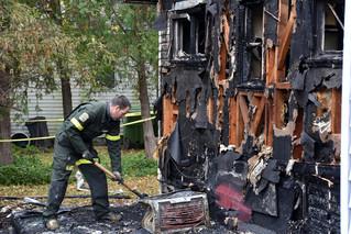 Arsonist's blaze seriously damages Hudson' Boutique NOVA