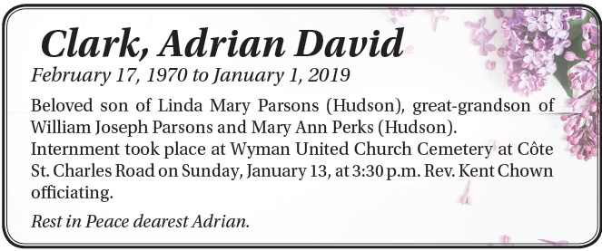 Adrian David Clark