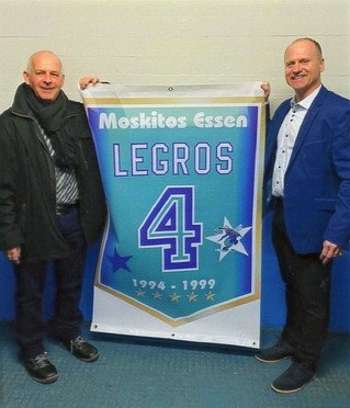 Veteran Vaudreuil-Dorion hockey player honoured in Essen, Germany