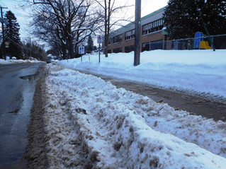 Hudson plagued by snow removal problems