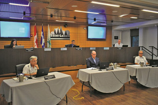 Saint-Lazare holds first public council meeting since start of COVID-19