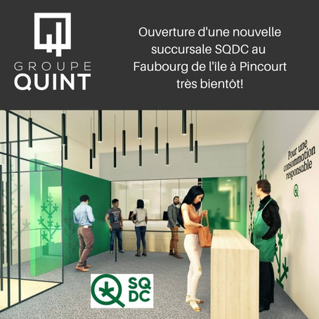 New SQDC marijuana dispensary set to open in Pincourt