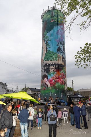 Vaudreuil-Dorion inaugurates its water tower