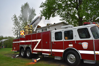 Saint-Lazare fire department trains to always be prepared