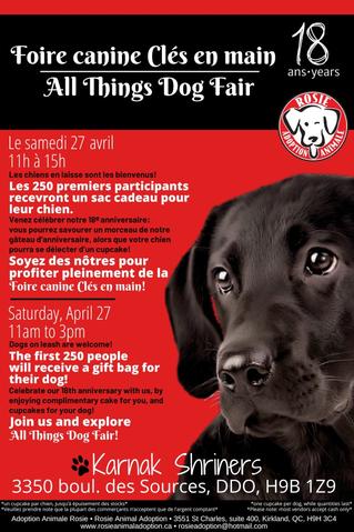 All things dog fair