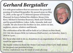 Gerhard Bergstaller