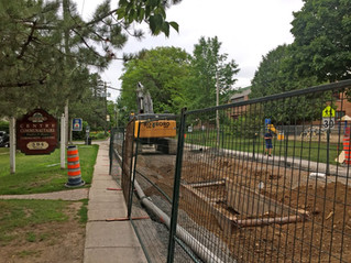 Focus on construction in Hudson core