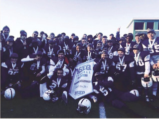 Victorious season for Les Voltigeurs Football