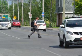 Rigaud receives official complaint regarding pedestrian safety