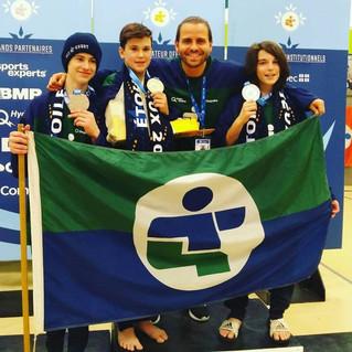 Regional Taekwondo team wins three medals at Quebec Games