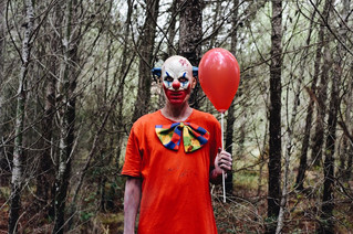 Clown and out