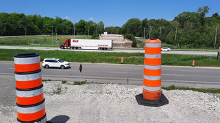 Reconstruction of the Chemin des Chenaux overpass
