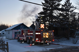 Saint Lazare home destroyed by fire