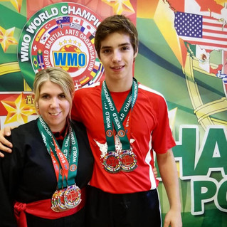 Locals medal at World Martial Arts Championships